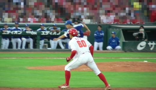 1塁ランナーの後ろ姿が好き。野球選手の背中って、なんであんなにカッコイイんだろう