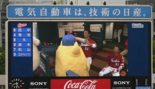 【たまらん♡】チャピー&バートは阪神選手とも絡んでた!