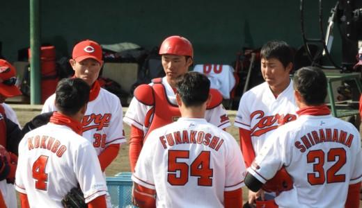 せっかく宮崎まで来たんじゃけぇ!カープのルーキー達に会いに、2軍の東光寺球場へ!【宮崎キャンプへいってきた⑥】