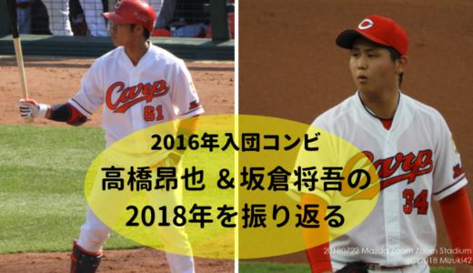 注目選手投票1位!高橋昂也 &坂倉将吾の2018年を振り返る