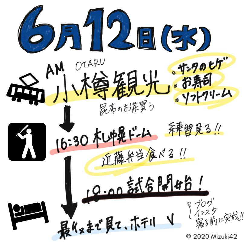 札幌ドーム2泊3日大満喫・2日目